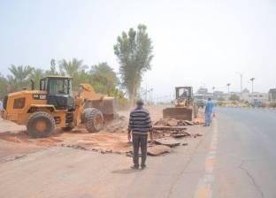 """""""مرور جنوب سيناء"""" تعيد فتح طريق """"الطور- أبو رديس"""" بعد تحسن الطقس"""