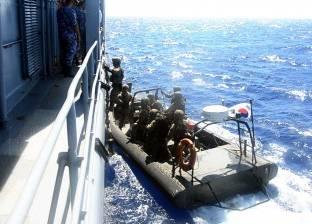 البحرية المصرية تنفذ تدريبات مع قوات من إيطاليا واليونان وكوريا