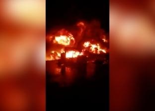 """مصادر: صاحب أرض """"ماسورة الوقود"""" ضُبط قبل حريق إيتاي البارود"""