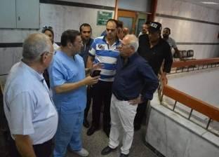 """""""الغضبان"""": دعم مستشفى بورسعيد العام بـ25 جهاز غسيل كلوي جديد"""