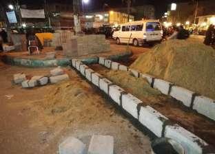 """""""القصاصين"""" بالإسماعيلية تعلن الانتهاء من تطوير مدخل المدينة"""