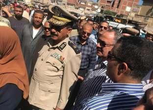 """نائب مدير أمن كفر الشيخ يتفقد مبادرة """"الداخلية"""" لتخفيض أسعار السلع"""