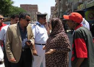 بالصور| مدير أمن الإسماعيلية يلتقى أهالي مناطق المحطة الجديدة والشهداء