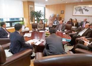 «مميش» يبحث مع «التصدير الكوري» دعم صناعة السيارات بالمنطقة الاقتصادية