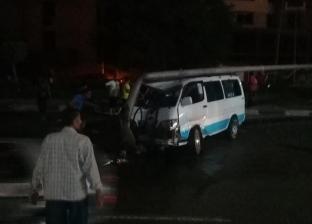 مصرع أمين شرطة في حادث تصادم سيارتين على طريق إسكندرية الصحراوي