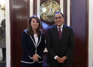 عاجل.. رئيس الوزراء يلتقي غادة والى ويهنئها بمنصبها الأممي الجديد