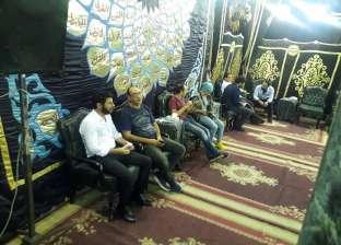 إياد نصار ومدحت صالح وعفاف شعيب يعزّون رشوان توفيق في وفاة زوجته