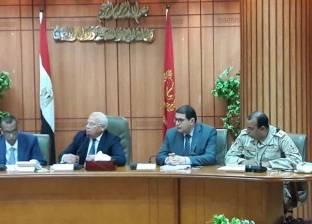 محافظ بورسعيد يتفقد غرفة عمليات الانتخابات الرئاسية ويعلن حالة الطوارئ