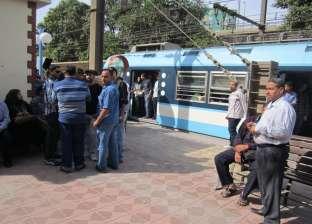 تخفيض سرعة القطارات خارج محطات مترو الأنفاق