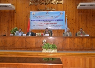 بالصور| محافظة أسيوط تنظم ورشة توعية لنقاط التحصيل الإلكتروني p.o.s