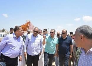 وزير النقل يتفقد أعمال إنشاء الكباري في مطروح ويطالب بسرعة إنجازها
