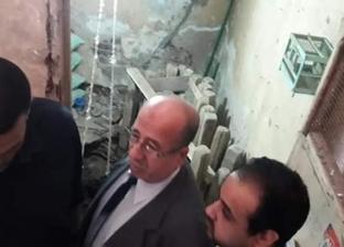 رئيس حي الزيتون يقرر إخلاء عقار بسبب أعمال حفر للتنقيب عن الآثار