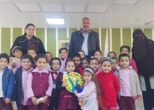 """تفعيل مبادرة الإنسان المصري لـ""""رياض الأطفال"""" بمدينة رأس سدر"""