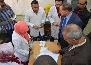 إقبال كبير على القوافل الطبية لعلاج فيرس سي داخل 4 مراكز بالإسماعيلية
