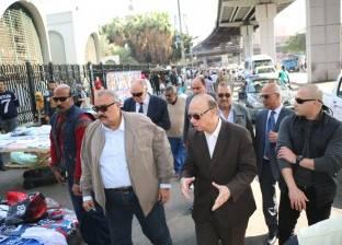 محافظ القاهرة يطالب بإزالة التعديات على مقابر الإمام الشافعي