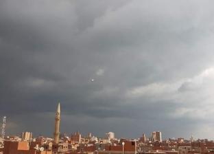 سقوط أمطار بالمنوفية وانخفاض درجات الحرارة