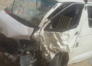 إصابة 14 في انقلاب سيارة ميكروباص بالدقهلية
