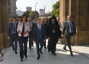"""وزيرة الهجرة: زيارة المصريين """"الأرمن"""" لمصر تؤكد أنها بلد الأمن والأمان"""