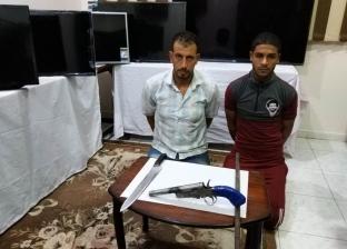 سقوط عصابة حاولت سرقة معرض أدوات منزلية في الغربية