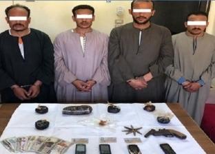 ضبط 34 قضية إتجار وحيازة مواد مخدرة