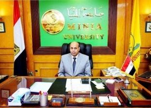 """رئيس جامعة المنيا ينعى ضحايا حادث """"قطار محطة مصر"""""""