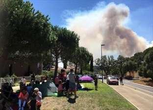 الحرائق تجتاج جنوب شرق فرنسا واجلاء اكثر من عشرة آلاف شخص