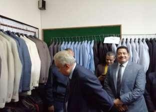 """سامح عاشور يزور مقر """"المحامين"""" في الإسكندرية ويعد بتحسين الخدمات"""