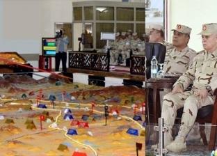 """رئيس أركان القوات المسلحة يتفقد مشروع """"بدوي 35"""""""