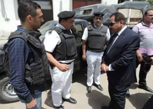 جولة لمدير أمن الاسكندرية على المدارس في أول أيام الدراسة