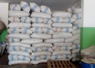 ضبط 60 طن أعشاب طبية مجهولة المصدر داخل مخزن في الإسكندرية