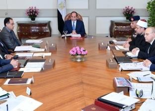 السيسي يستعرض نتائج زيارة وزير الخارجية ورئيس المخابرات للخرطوم