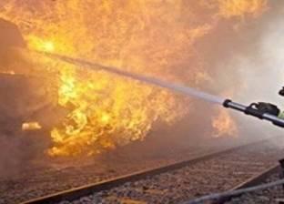 حريق هائل بمصنع أخشاب بالدرب الأحمر.. والمدارس المجاورة تصرف تلاميذها