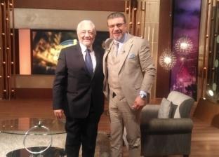 """الليلة.. عمرو الليثي يحاور خالد زكي على """"النهار"""""""