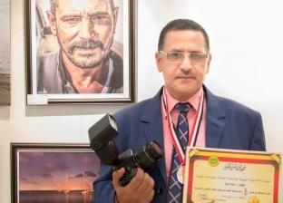 أحمد أمارة معلم بدرجة فنان رسم جمال الطبيعة المصرية: بلدنا حلوة