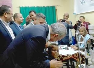 """""""تحيا مصر"""": نستهدف إجراء 20 ألف عملية مياه بيضاء ضمن """"نور حياة"""""""
