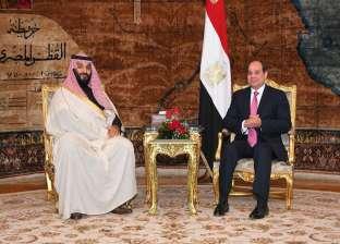 بث مباشر| السيسي وبن سلمان يتفقدان مشروعات محور قناة السويس