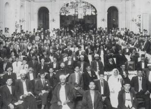 قبل افتتاحه في احتفالات المئوية.. أول صور من معرض «الوفد» عن ثورة 1919