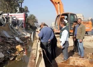 أجهزة الدولة تواجه تعديات مرتضى منصور وتزيل مخالفات النادى النهرى