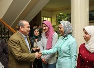 بالصور| محافظ كفر الشيخ يستقبل أوائل الطلاببعد زيارة معالم أثرية