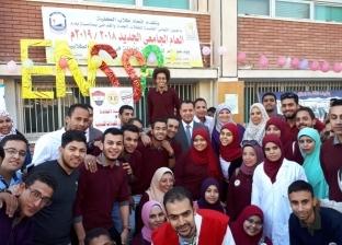 """نائب رئيس جامعة أسيوط يفتتح """"100 مليون صحة"""" بكلية التمريض"""