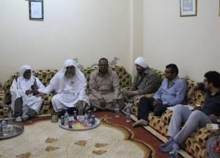 مستشار رئيس الوزراء يزور الحزام الأخضر ببرج العرب