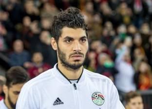 علي جبر يتعرض للإصابة في تدريب المنتخب