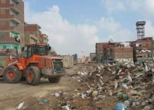 الأجهزة التنفيذية في الزقازيق تواصل حملات إزالة القمامة من الشوارع