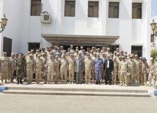 """""""قناة السويس"""" تستقبل وفدا من كلية الحرب العليا بأكاديمية ناصر"""