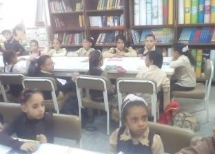 بالصور| انطلاق الدراسة بمدارس الغربية.. ووكيل التعليم يوجه رسائل هامة للمعلمين
