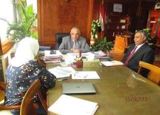 وزير الري يناقش آليات تنفيذ برنامج الحكومة الخاص بالوزارة