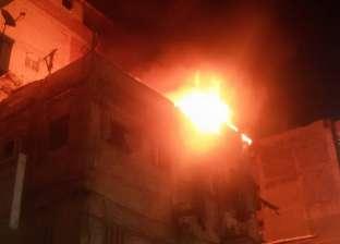 حرارة الجو تتسبب في حريق بمصنع بالعاشر من رمضان بالشرقية