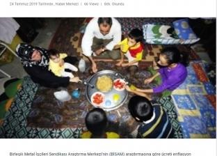 دراسة: أصحاب الحد الأدنى من الأجور في تركيا عاجزون عن شراء الطعام