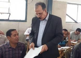 """بالصور  نائب رئيس جامعة الزقازيق يتفقد امتحانات التعليم المفتوح بـ""""الحقوق"""""""