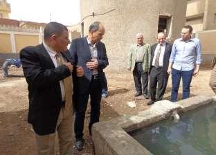 جيولوجيون بجامعة المنوفية يدرسون تصميم الآبار وتخزين المياه الجوفية